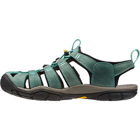 Keen Clearwater CNX Leather - Sandales Femme - turquoise